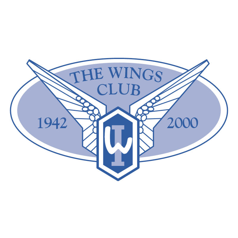The Wings Club vector logo