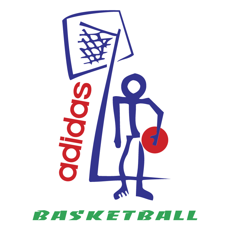 Adidas Basketball vector logo