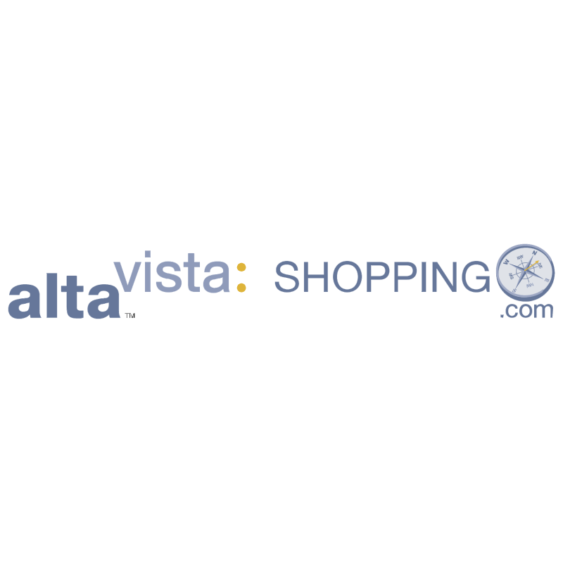 AltaVista Shopping vector