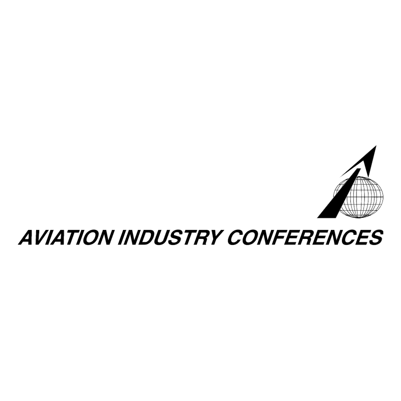 Aviation Industry Conferences vector