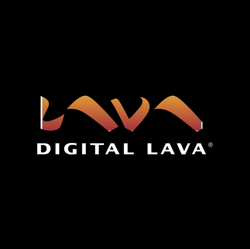 Digital Lava vector