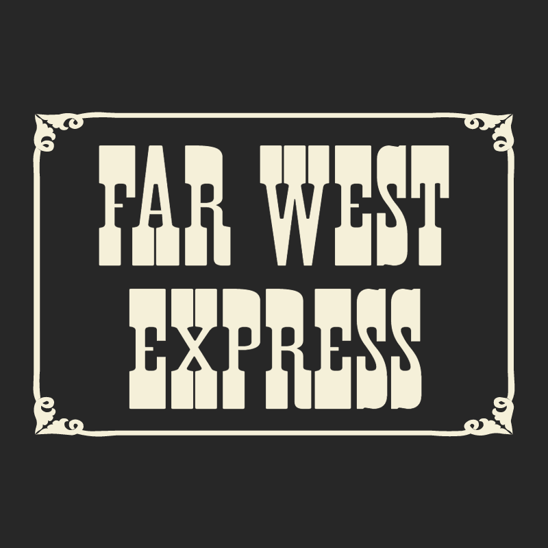 Far West Express vector