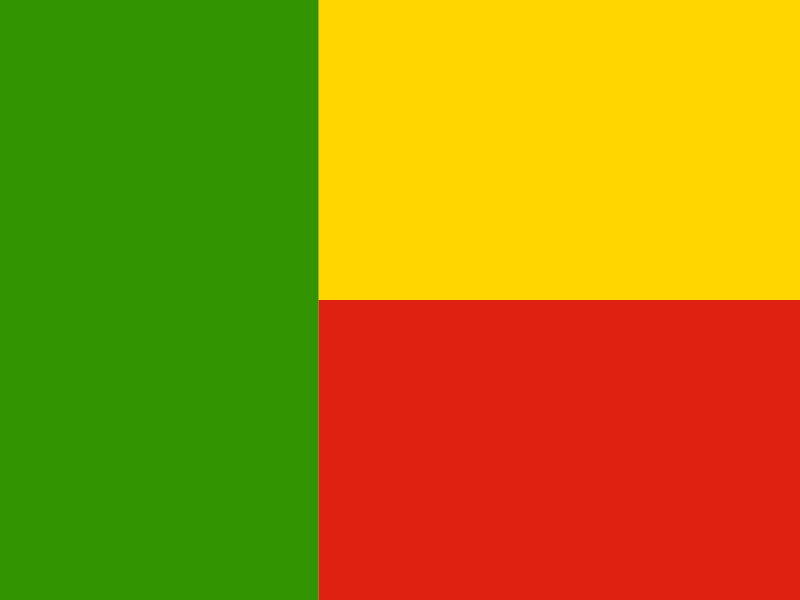 Flag of Benin vector logo