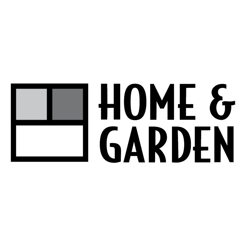 Home & Garden vector logo