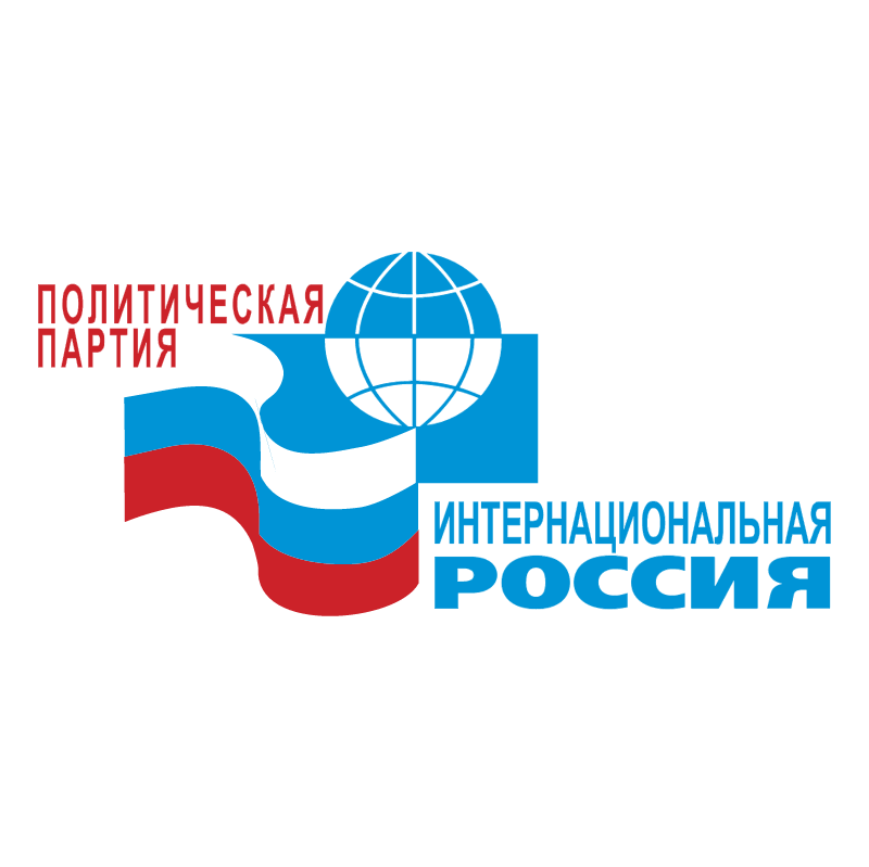 International Russia vector logo