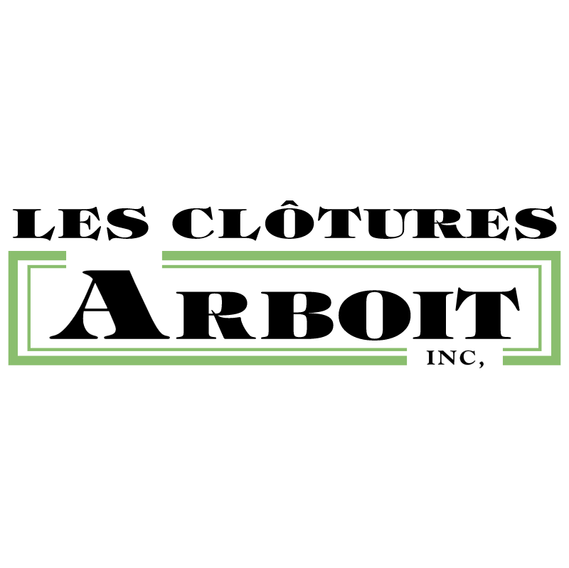 Les Clotures Arboit vector