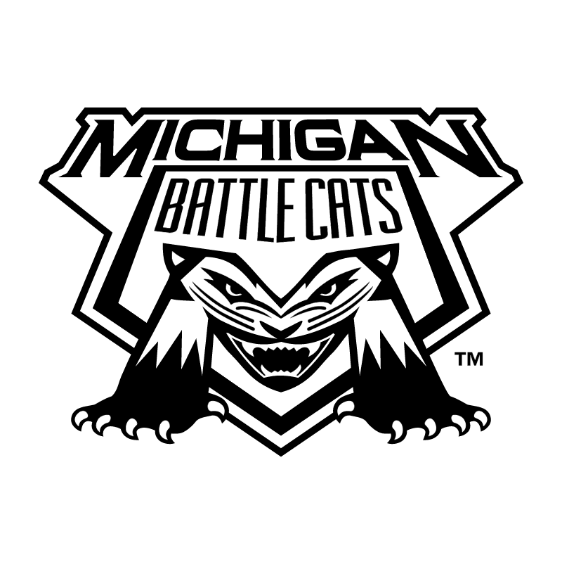 Michigan Battle Cats vector