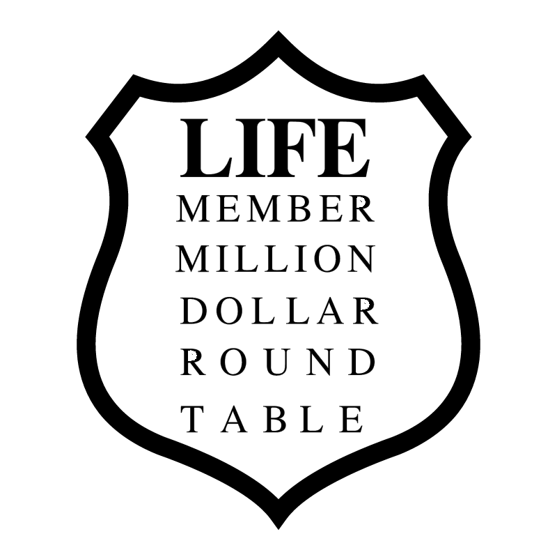 Million Dollar Round Table vector