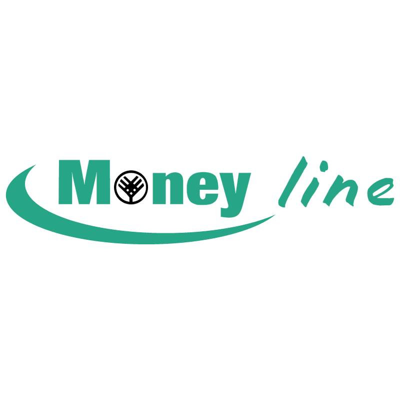 Money line vector logo