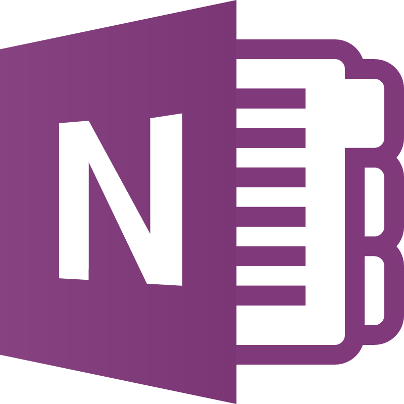 OneNote icon vector