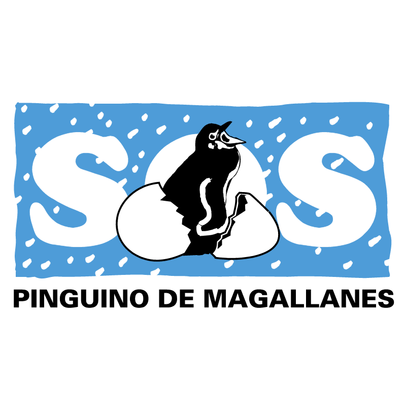 Pinguino de Magallanes vector