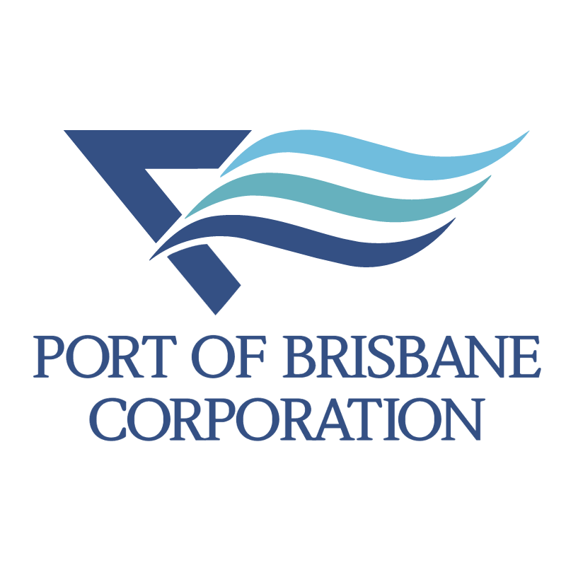 Port Of Brisbane Corporation vector logo