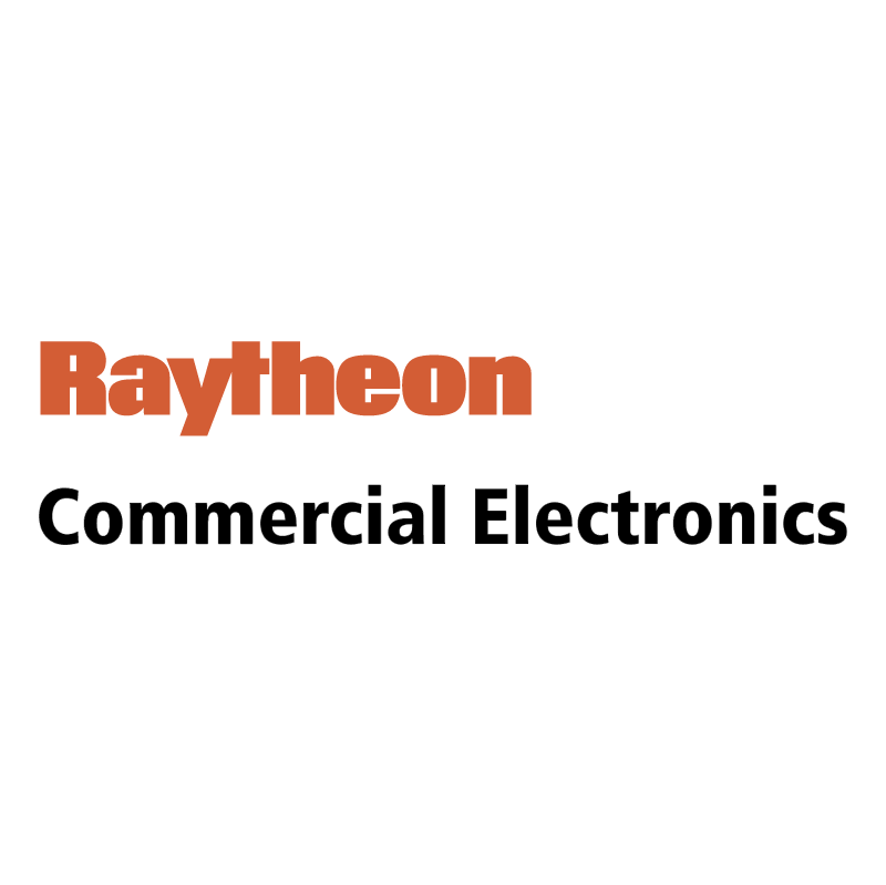 Raytheon Commercial Electronics vector logo