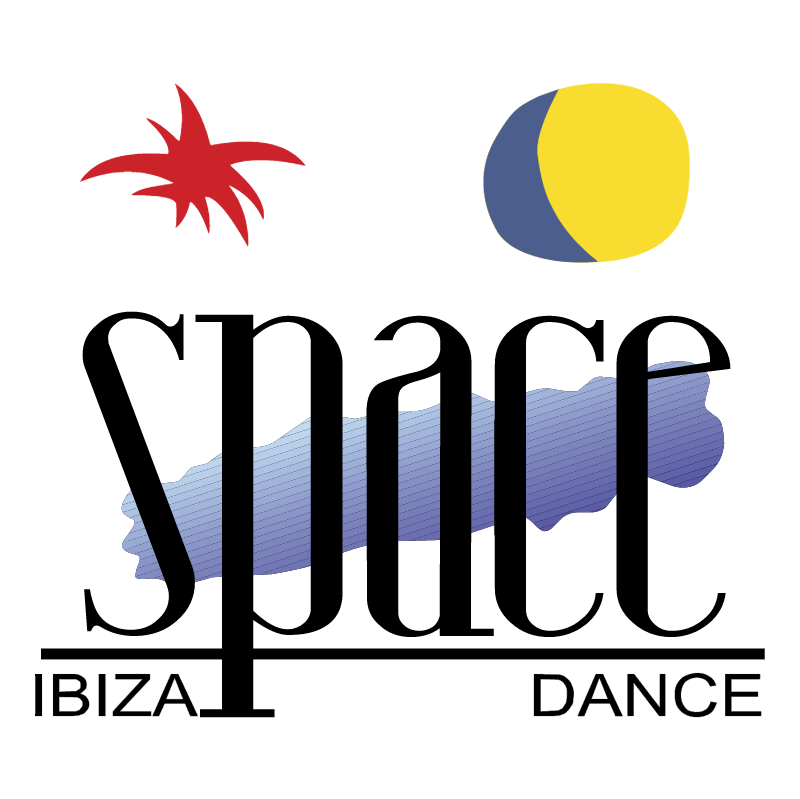 Space Ibiza vector logo