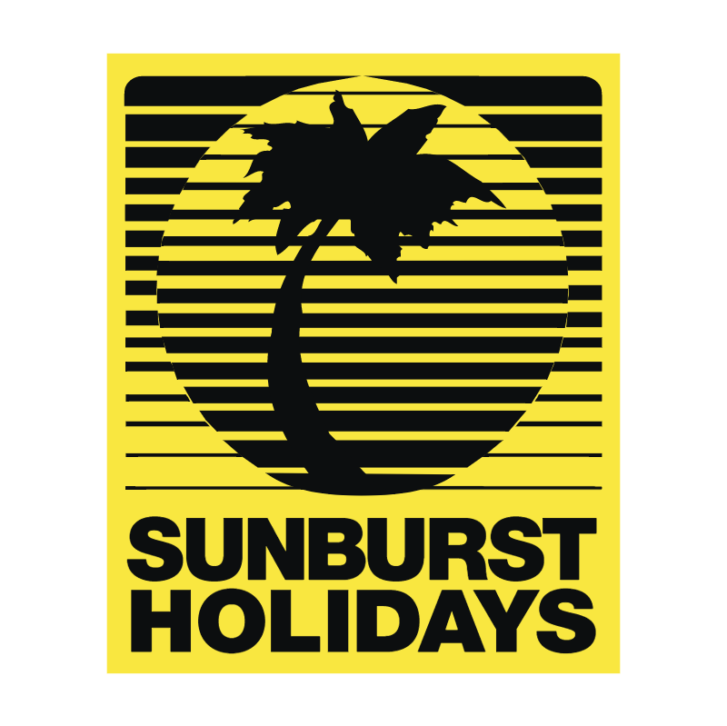 Sunburst Holidays vector