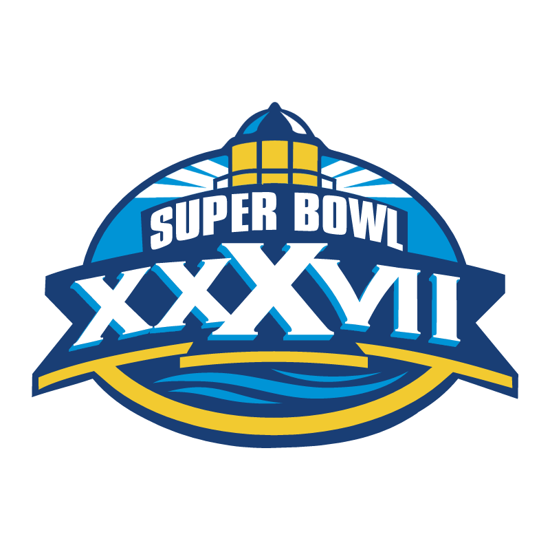 Super Bowl 2003 vector