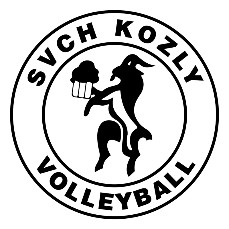 SVCH Kozly Volleyball vector