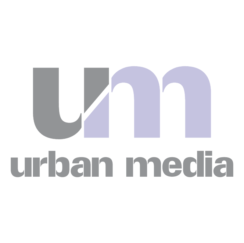 Urban Media vector logo
