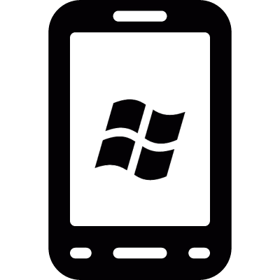 Windows phone vector logo