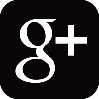 Social google plus square button vector