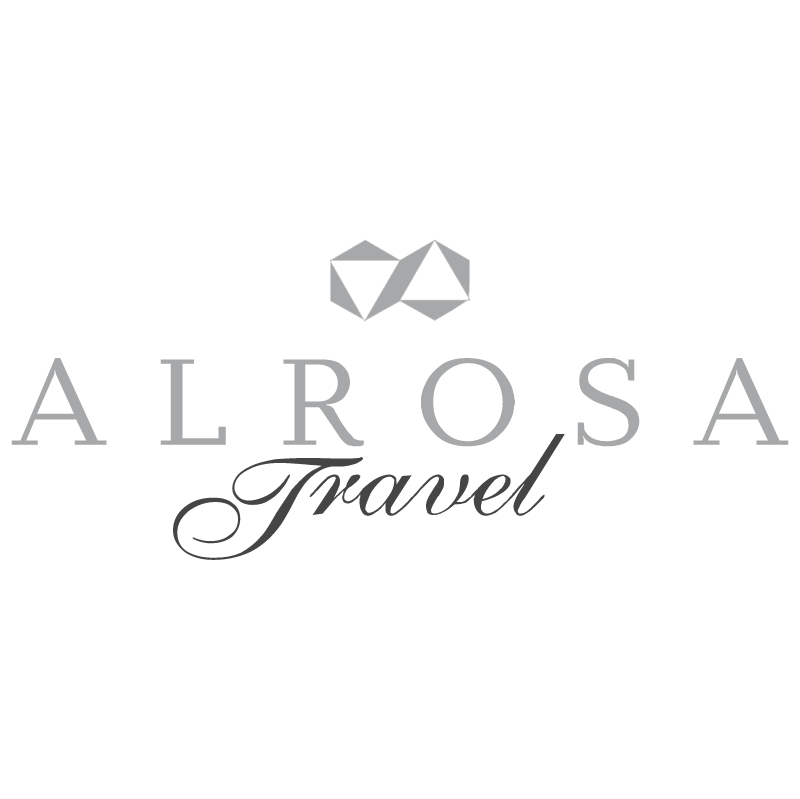 Alrosa Travel vector logo