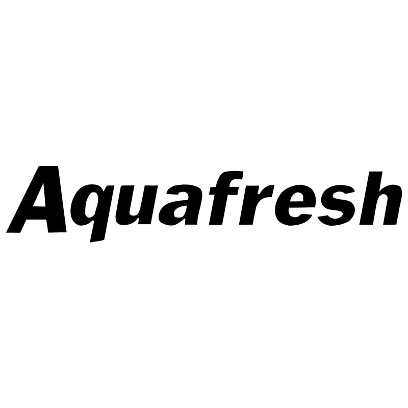 Aquafresh vector
