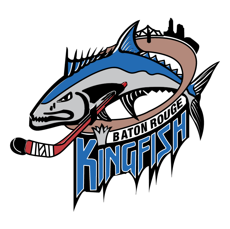 Baton Rouge Kingfish vector