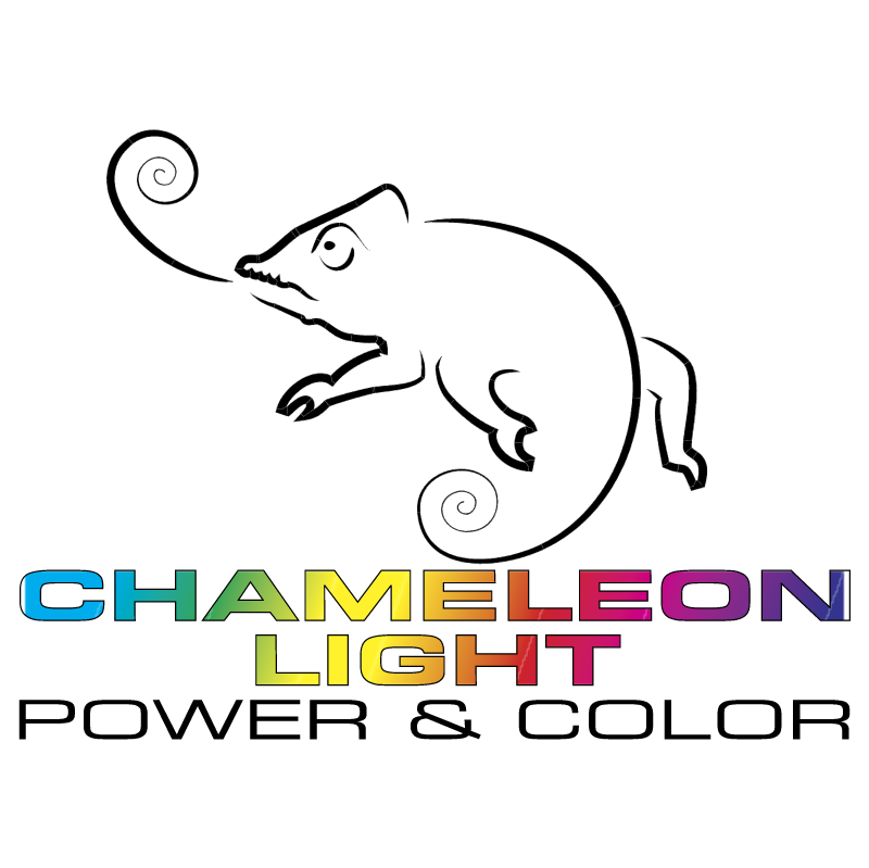 Chameleon Light vector