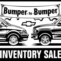 Chevrolet Inventory Sale vector