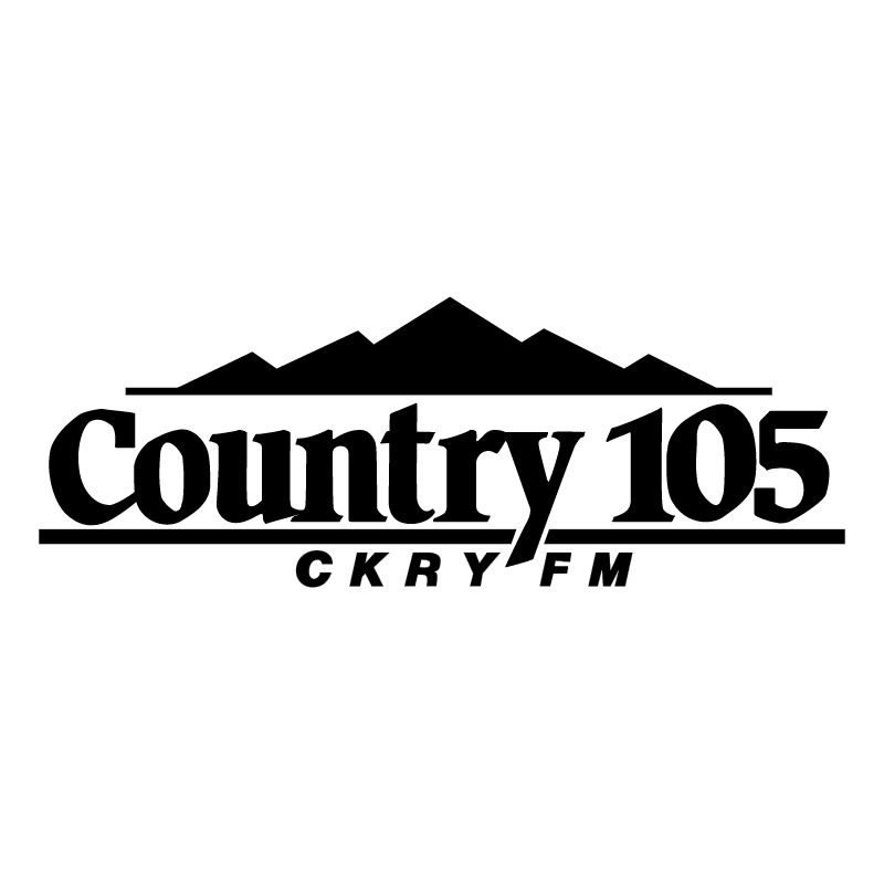 Country 105 vector logo