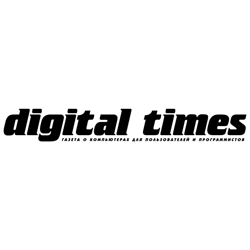 Digital Times vector logo