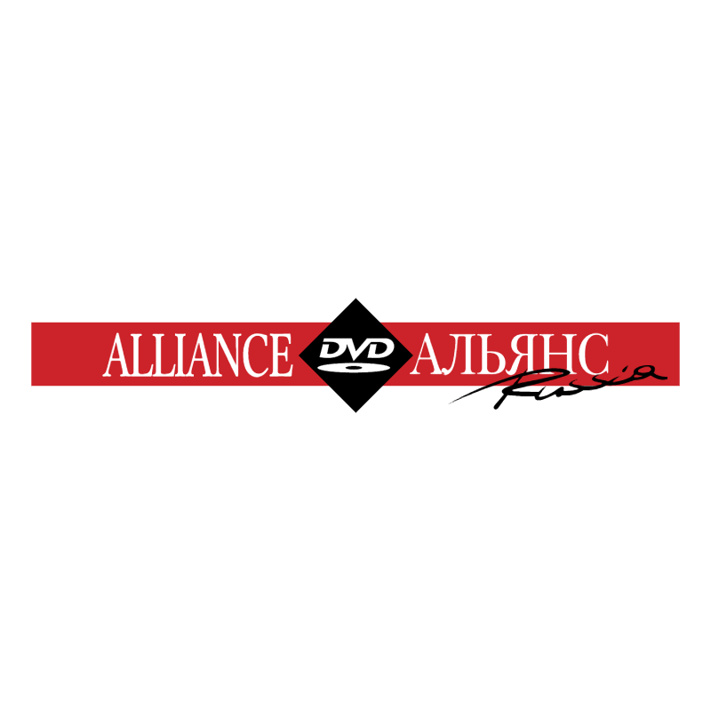 DVD Alliance Russia vector logo