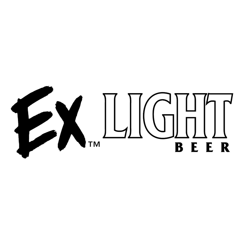 Ex Light Beer vector