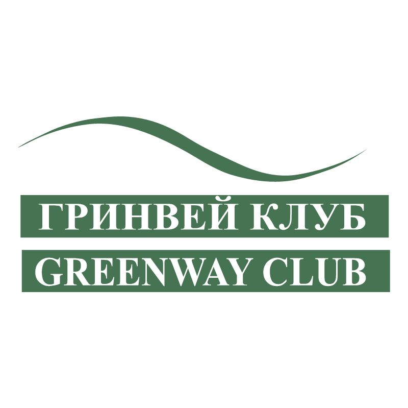 GreenWAY Club vector