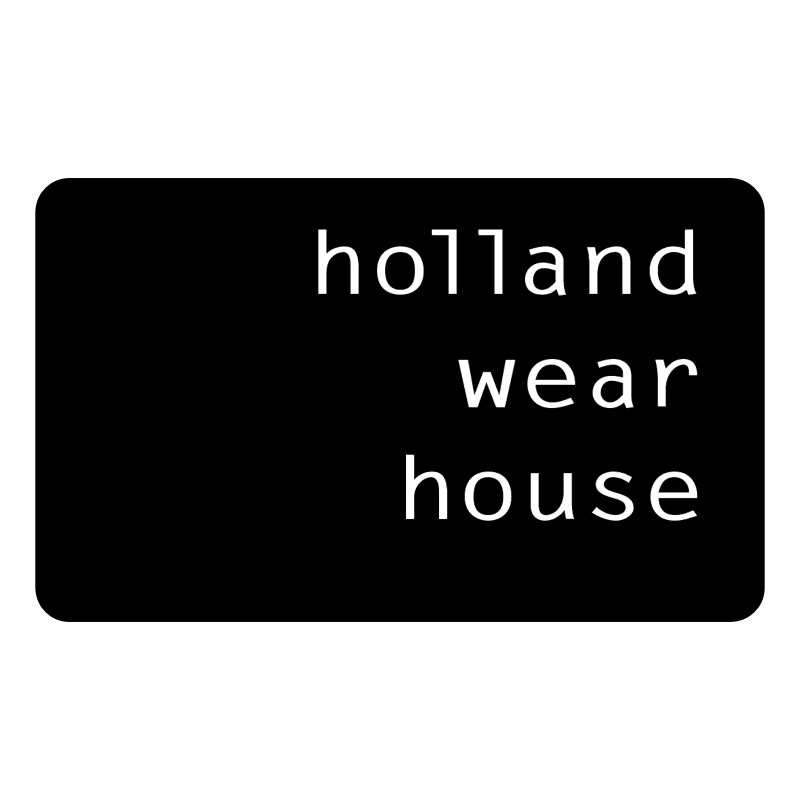 Holland Wear House vector