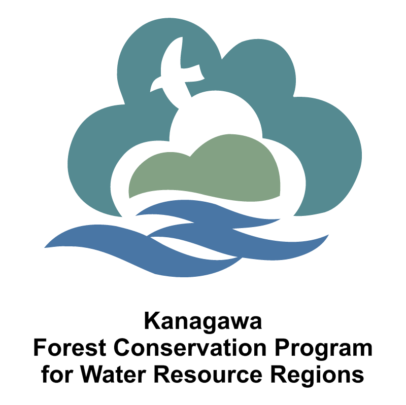 Kanagawa Forest Conservation Program vector logo