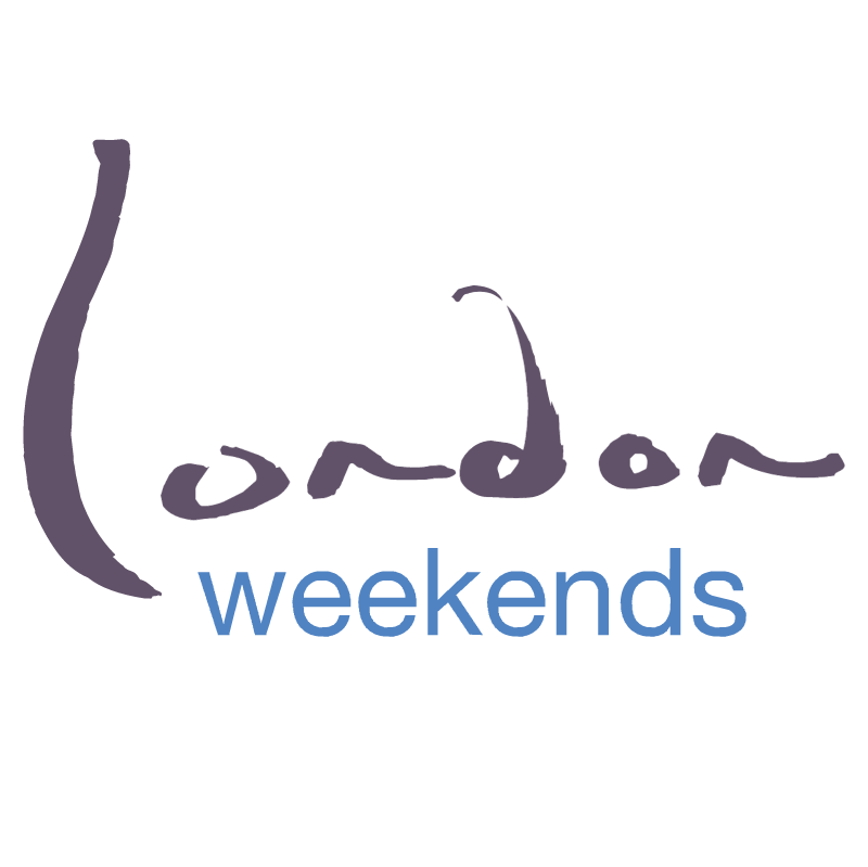 London Weekends vector