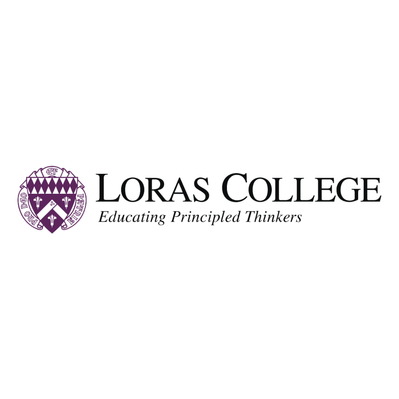Loras College vector