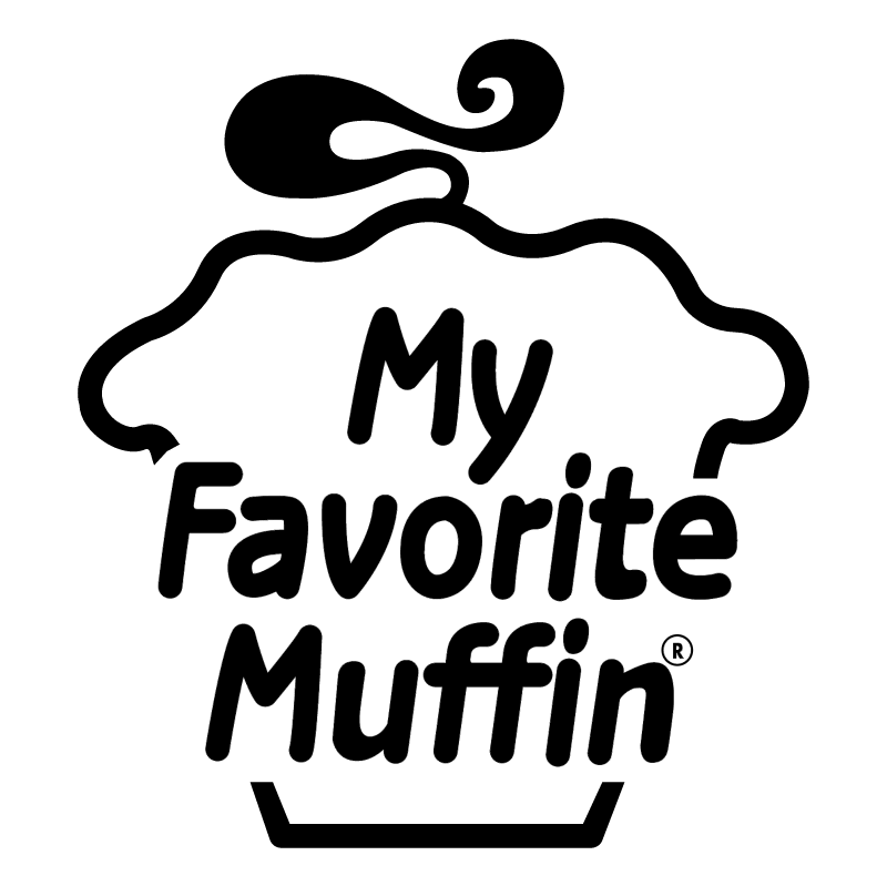 My Favorite Muffin vector logo