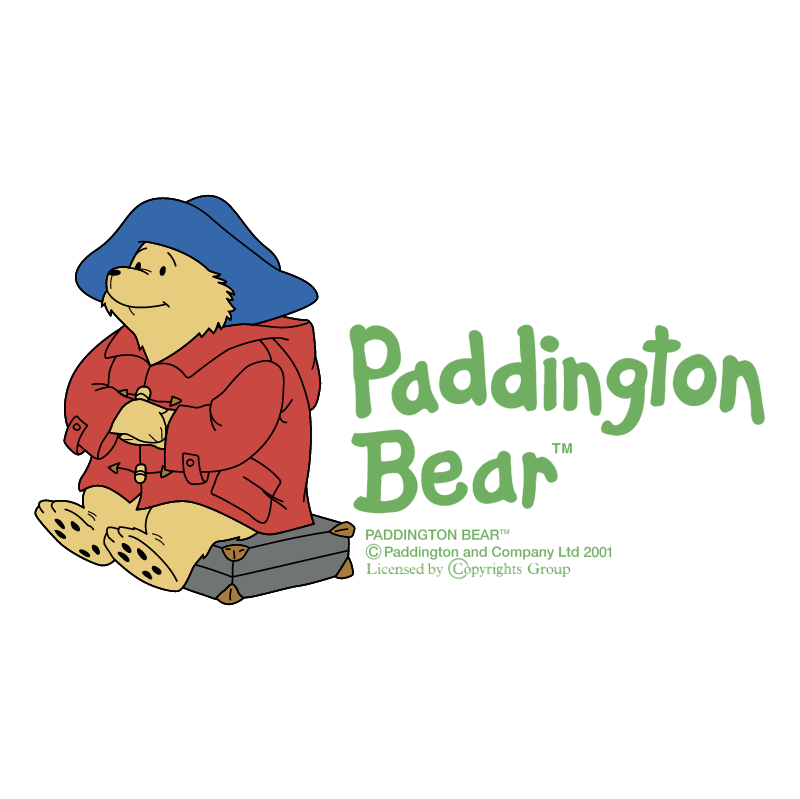 Paddington Bear vector