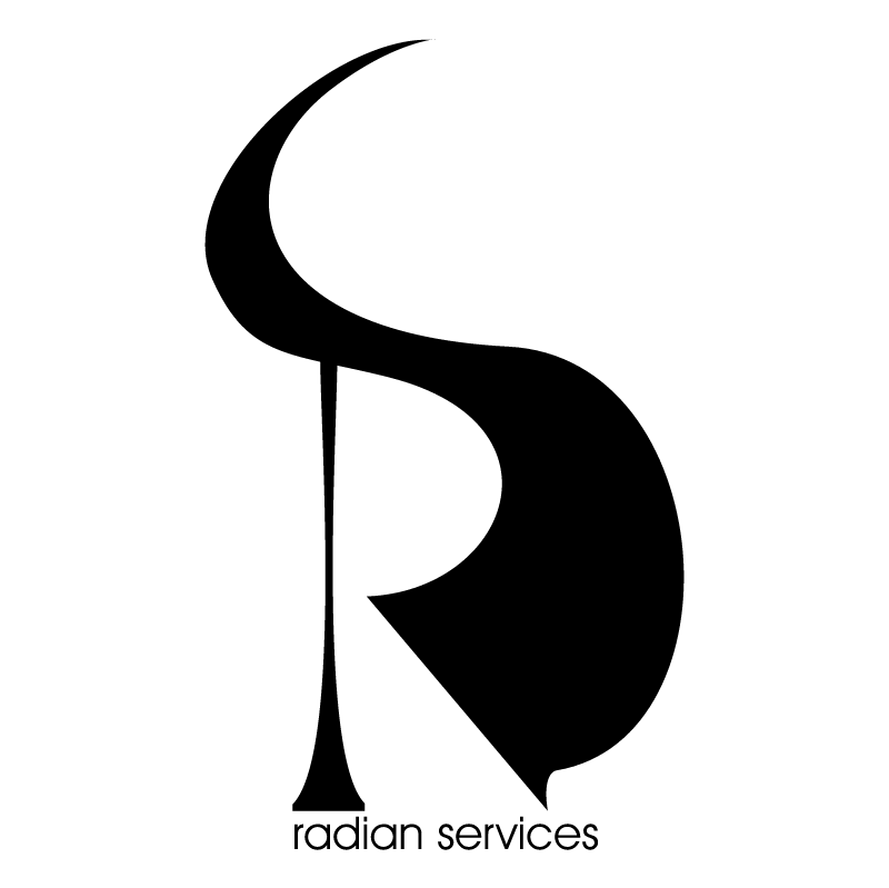 Radian services vector