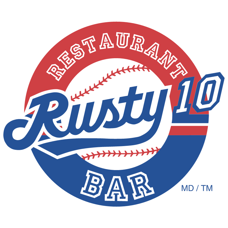 Rusty 10 vector logo