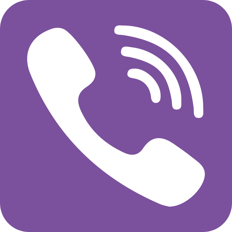 Viber icon vector