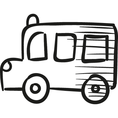 draw school bus
