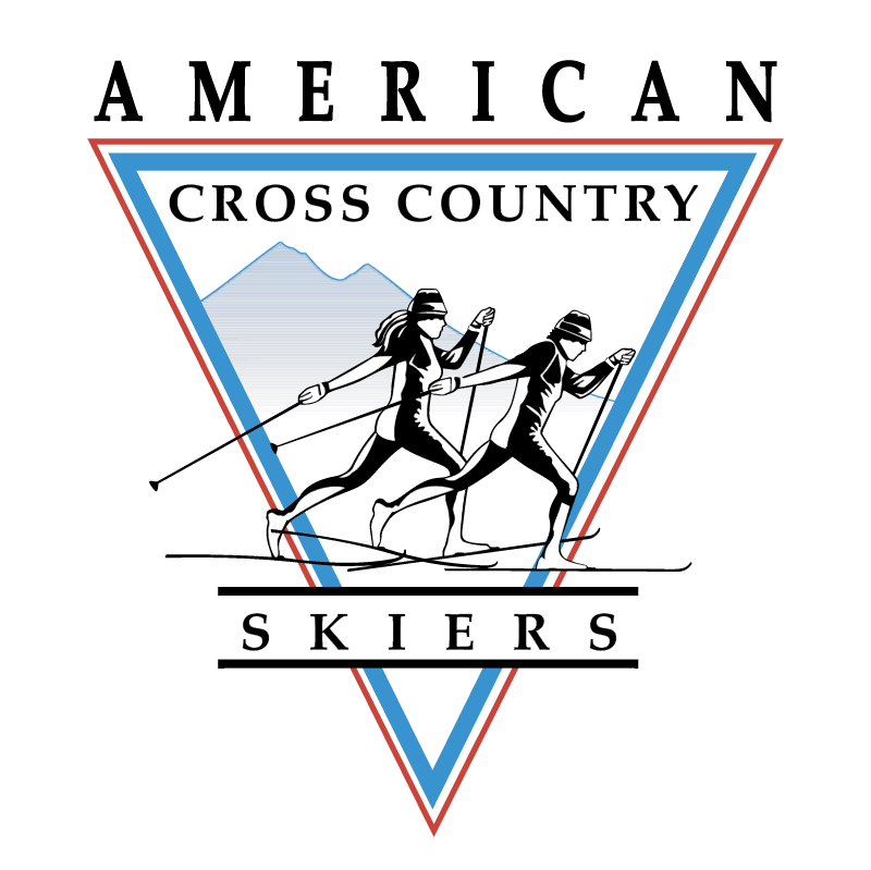 American Cross Country Skiers 71893 vector