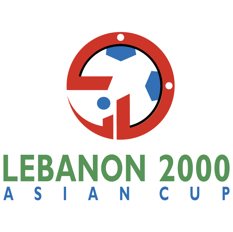 Asian Cup Lebanon 2000 vector