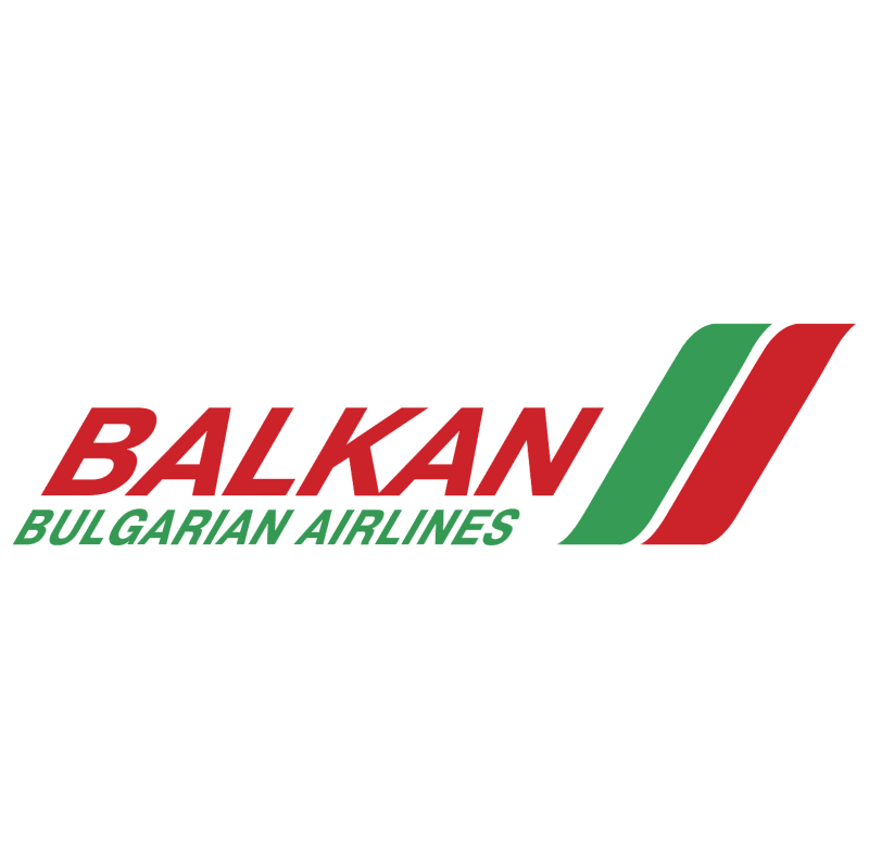 Balkan Bulgarian Airlines 29741 vector