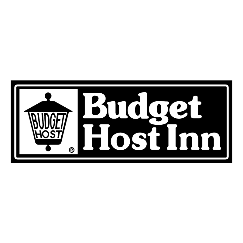 Budget Host Inn vector logo