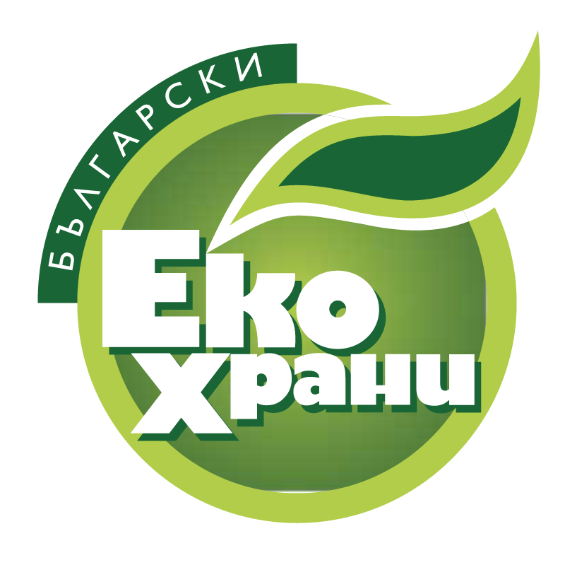 Bulgarian Eco Food vector logo