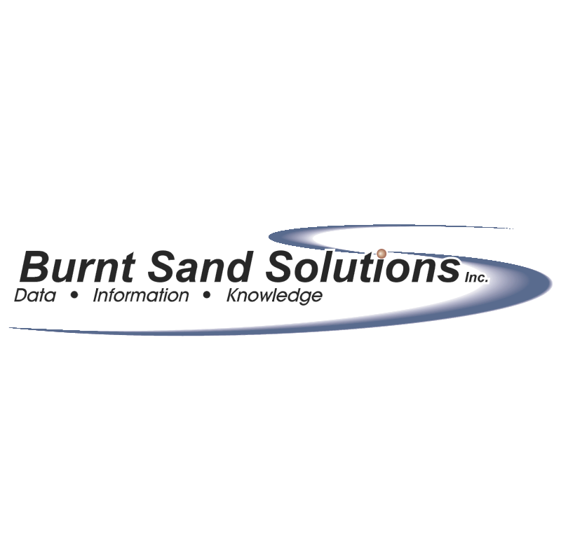 Burnt Sand Solutions vector logo